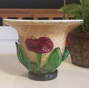 Accents - Murano fused glass vase/bowl